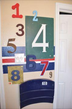 Sports Themed Boy's Room - Design Dazzle