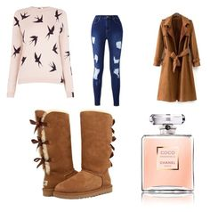 """""""Untitled #9"""" by dizdarevicnermina ❤ liked on Polyvore featuring UGG and Oasis"""