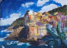 Nádherné taliansko, včul nevieme kam skôr vycestovať :-) Cinque Terre, Painting, Art, Art Background, Painting Art, Kunst, Paintings, Performing Arts, Painted Canvas