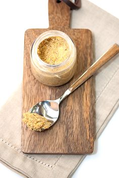 Beer mustard is coarse ground brown mustard made with an ale (type of beer). This recipe uses a touch of brown sugar to round out the bold flavors.
