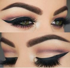 I will learn how to put my eyeliner like this one day. Promise lol