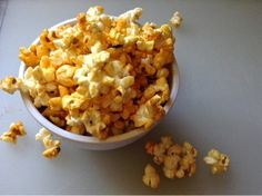A snack recipe so good you will hide from your children to eat it! Fearlessly Creative Mammas: Buffalo Ranch Popcorn