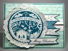 Peace on Earth- Wonderful Blessing by Julie Gearinger - Cards and Paper Crafts at Splitcoaststampers