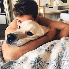 man and dog Mans Best Friend, Girls Best Friend, I Love Dogs, Puppy Love, Cute Puppies, Dogs And Puppies, Doggies, Baby Animals, Cute Animals