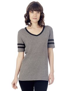 Varsity Vintage 50/50 T-Shirt - 05058BP | Alternative Apparel