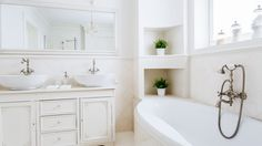 Home Staging Ideas to Brighten Your Bathroom> http://www.realtor.com/advice/sell/home-staging-ideas-for-the-bathroom/?iid=rdc_news_hp_carousel_theLatest #calgary #home #realestate