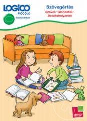 - LOGICO Piccolo 5405 - Szövegértés: Szavak, mondatok, beszédhelyzetek - A LOGICO Piccolo Szövegértés című sorozatát a 7-9 éves kisiskolások olvasási készségének fejlesztésére dolgoztuk ki. A gyerekek játszhatnak vele szabadidejükben, de a feladatlapok használhatók iskolai kiegészítő tevékenység során is. A megoldás keresése közben a gyerekeknek bővül a szókincsük és átélhetik az olvasás örömét. Ez a LOGICO Piccolo kártyacsomag fejleszti:    - az olvasási képességet,    - a szövegértést…
