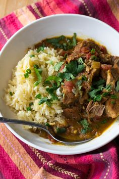 Crock Pot Coconut Pork Curry - What the Forks for Dinner? Pork Curry Recipe, Curry Recipes, Pork Recipes, Paleo Recipes, Indian Food Recipes, Real Food Recipes, Recipies, Curry Dishes, Pork Dishes