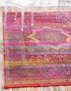 Pink Havana Area Rug