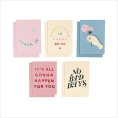 Send love all year with this greeting card set from Ban. Including five designs, two copies of each design. Cards measure approximately x Tag Design, Design Art, Packaging Design, Branding Design, Typography Design, Lettering, I Got Your Back, Bussiness Card, Incredible Gifts