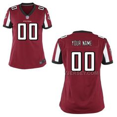NFL Jerseys NFL - Nike Falcons #11 Julio Jones Red Team Color Women's Stitched NFL ...