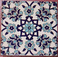 Turkish/Ottoman Kitchen tiles