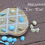 seashell tic tac toe