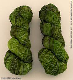 Smooshy Cashmere - Emerald Darkness