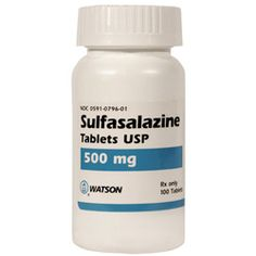 learn the pharmacological studies of sulfasalazine  http://www.medicalzone.net/pharmacology-definition---sulfasalazine.html