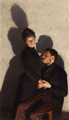 Emile Friant (1863-1932) Ombres Portées 1891 •●