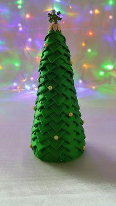 Jak zrobić choinkę ze wstążki (karczoch) - Ozdoby Świąteczne