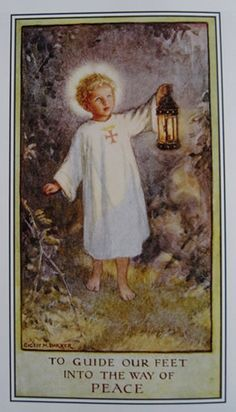 Cicely Mary Barker was born in 1895 and as a child suffered much ill-health. She was educated at home and during those years taught herself to draw. Throughout her life she had a strong Christian faith and her painting of the young Christ is an image English Sunday School pupils (past and present) are familiar with.