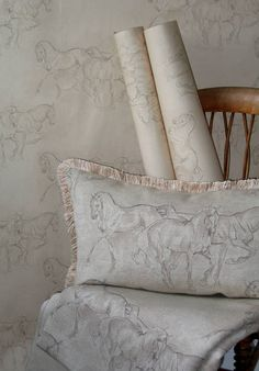 Equus Fabrics from our Character Fabrics range