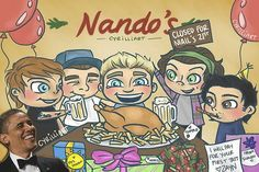 Just take a while and look at every single detail in this drawing , the words their expressions haha it's very funny.