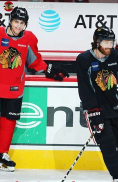Patrick Kane and Duncan Keith  Blackhawks  Instagram Blackhawks Hockey 32978c4b5