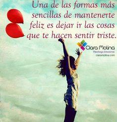 ¿ERES FELIZ?... (((Sesiones y Cursos Online www.ciaramolina.com #psicologia #emociones #salud)))