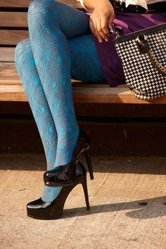 bright tights are so right!