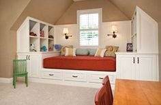Attic Bedroom Lighting Ideas | Ideas for Cool Attic Bedroom Design for Kids that are Warmth and ...