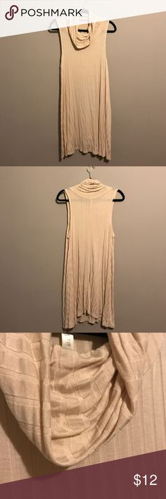"""Sleeveless Dress Wore it once but not really my style so it's """"like new"""". Material is rayon and spandex and it has some stretch. Great for layering! Lyss Loo Dresses"""