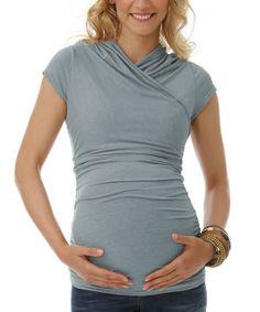 Cloud Myriad Maternity & Nursing Top
