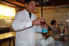 Laboratorio de Química Colegio Ramón Castilla