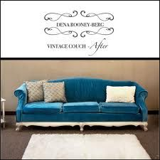 fabulous reupholstered vintage couch!