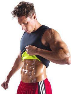 Fat Burning Sauna Sweat Vest for Men