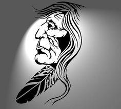 Tribal Tattoos Native American, Native American Face Paint, Native Tattoos, American Indian Tattoos, American Indian Art, American History, Mayan Symbols, Viking Symbols, Egyptian Symbols