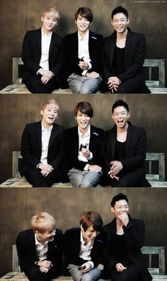 JYJ's laughter...so cute!! Sigh, I miss Tohoshinki (TVXQ)