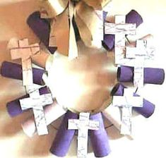 You'll find over 50 different Lenten Arts and Crafts ideas here, with pictures of the projects and the site names to the tutorials. You'll find this article useful if you teach a Sunday school class.