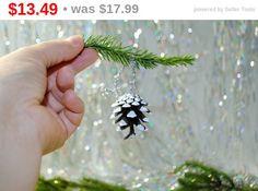 Set of 12 Christmas tree cones ornaments by syvenir3dnru on Etsy