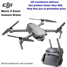 DJI MAVIC 2 Zoom RC Camera Drones With Camera Hd Aircraft 8km 4K 1080p Drone GPS Remote Control Active Track 31min Flying Time Drone Gps, Renda Extra Online, Mavic, Remote, Aircraft, Track, Aviation, Runway, Truck