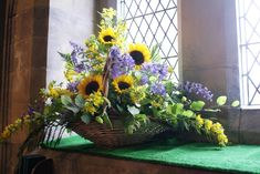 church floral displays