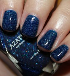 Azature Blue Nail Lacquer  Holy cow this is stunning, but never in a million years would I pay $25 for a bottle of nail polish.