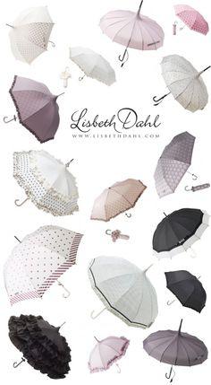 Umbrella heaven By Lisbeth Dahl Copenhagen Spring/Summer 13.  #LisbethDahlCph  #Umbrella #Lovely #colours
