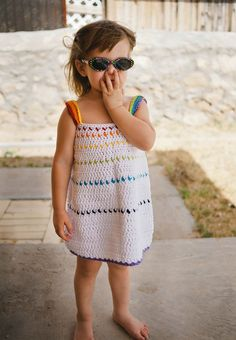 Sundress Crochet Pattern from Newborn to Kids Size 10