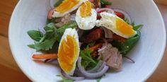 Yumurtalı Ton Balığı Salatası