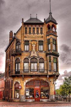 Art Nouveau Building . Netherlands