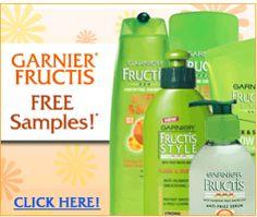 Garnier Fructis Samples  i love free samples & i garnier! Perfect!