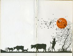endpapers Thoughts Day by Day, 1927