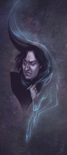 I'm not a fan of this element of Snape's characterization (*at all*), but this art is gorgeous. By Sash-kash on dA.