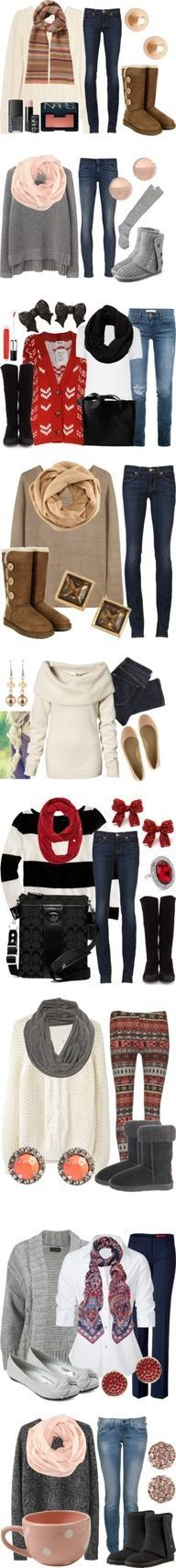 96 Best Bundle Up! images   Woman fashion, Cold winter outfits, Date ... b82966b31af8