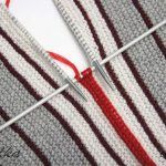 I-cord method for binding edges and connecting parts Knitting Squares, Knitting Stitches, Knitting Patterns, Crochet Patterns, Diy Crafts Knitting, Diy Crafts Crochet, Knitting Projects, Gilet Crochet, Knit Or Crochet
