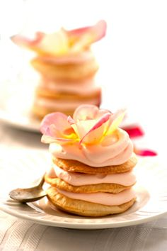 Rose Petals Napoleon Recipe (1) From: Bas Cooking (2) Follow On Pinterest >  Sylvia Capria